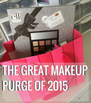 THE GREAT MAKEUP PURGE OF 2015
